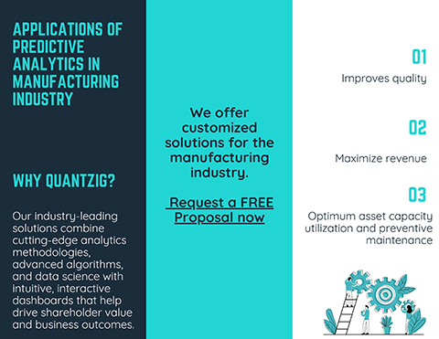 Applications of Predictive Analytics in Manufacturing Industry
