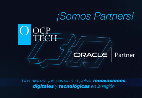 Sociedad entre OCP TECH y Oracle para Latinoamérica (Graphic: Business Wire)