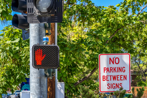 The University of Nevada, Reno's Nevada Center for Applied Research has integrated Velodyne Ultra Puck lidar sensors with traffic signals to detect, count and track pedestrians, cyclists and traffic. (Photo: Velodyne Lidar, Inc.)