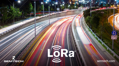 LoRa and Korea Expressway (Graphic: Business Wire)
