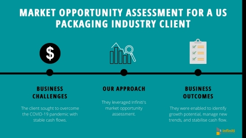 Market Opportunity Analysis for a US Packaging Industry Client (Graphic: Business Wire)