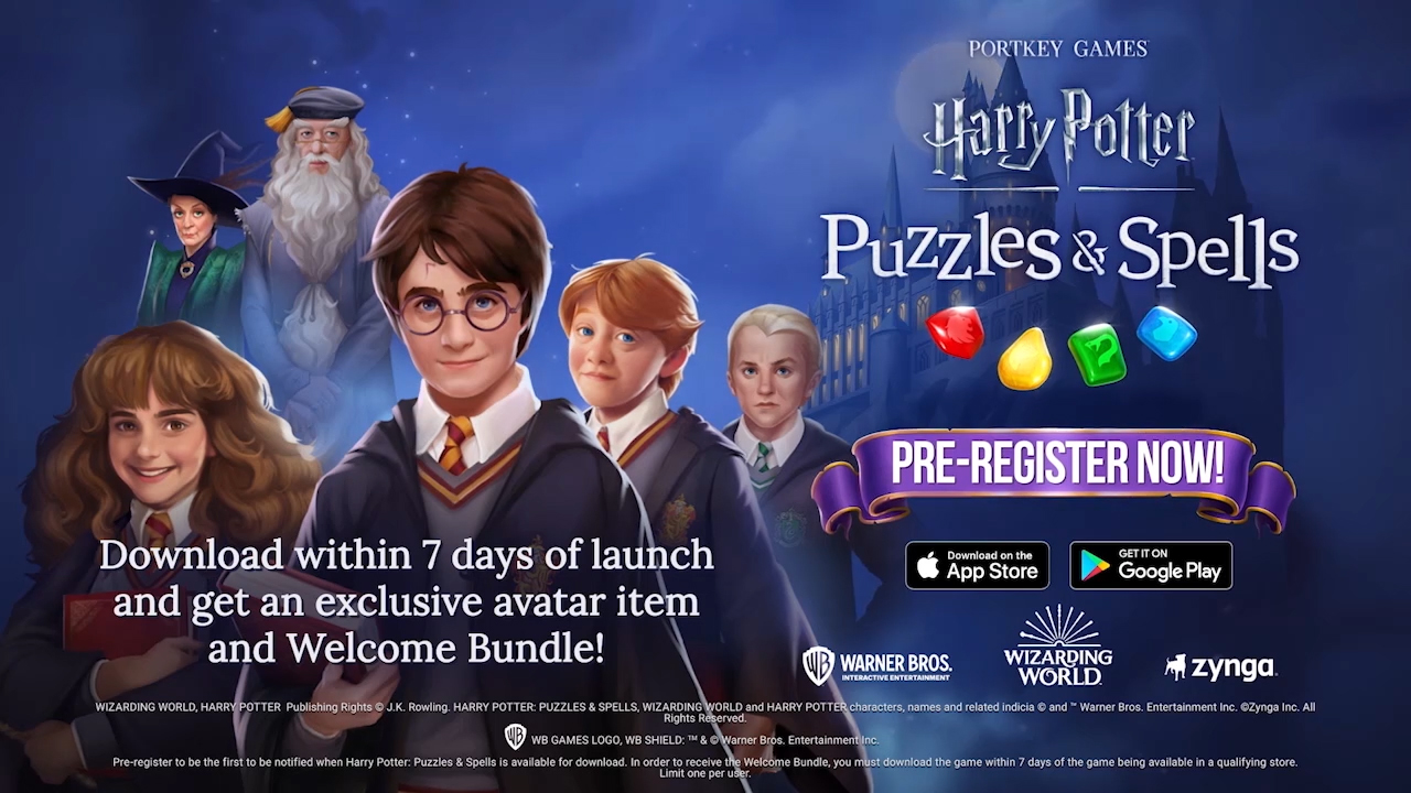 Harry Potter: Puzzles & Spells opens pre-registration on Google Play