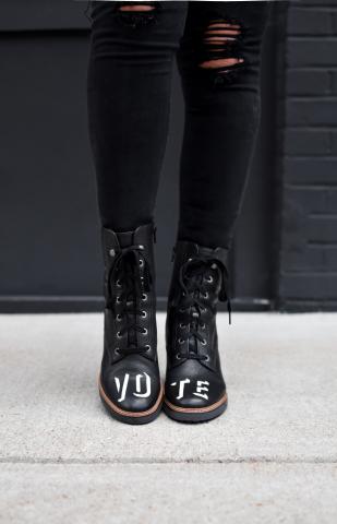 Naturalizer Callie VOTE boot (Photo: Business Wire)