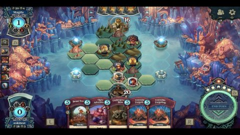 With its unique living board, the Faeria game will challenge you with truly strategic card battles. (Photo: Business Wire)