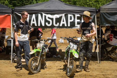 MANSCAPED will help bring the action, entertainment, and fun of Pastranaland Pit Bike Championship to fans nationwide. (Photo: Josh McElwee/Nitro Circus)