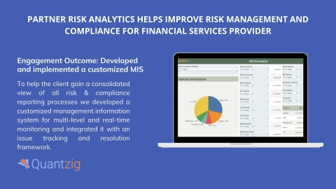 Engagement Outcome: Developed and implemented a customized MIS (Graphic: Business Wire)