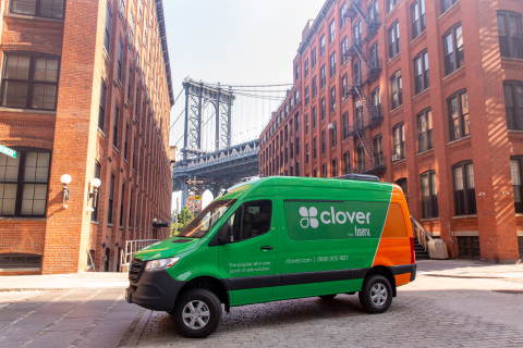 A Clover Traveling Tech Team meets businesses where they are to deliver Fiserv technology and expertise. (Photo: Business Wire)