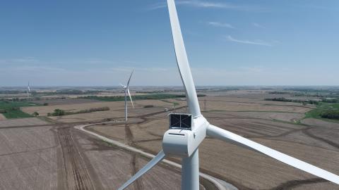Milligan 1 Wind Project in Saline County Nebraska (Photo: Business Wire)