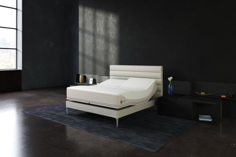 """The new Sleep Number 360® smart beds feature temperature-balancing layers and are designed to more closely contour to the body for greater support and spinal alignment, increased pressure relief and reduced motion transfer. They are engineered to be the most comfortable beds Sleep Number has ever made, as measured by Sleep Number's proprietary """"comfort index."""" (Photo: Business Wire)"""