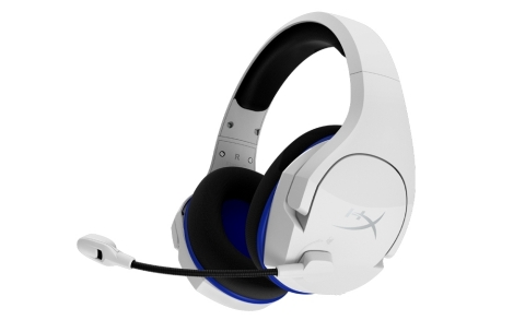 HyperX Cloud Stinger Core wireless gaming headset in white (Photo: Business Wire)