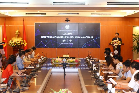 Vietnam's Ministry of Information and Communications Hosted akaChain's Launching Ceremony on August 14, 2020 (Photo: Business Wire)