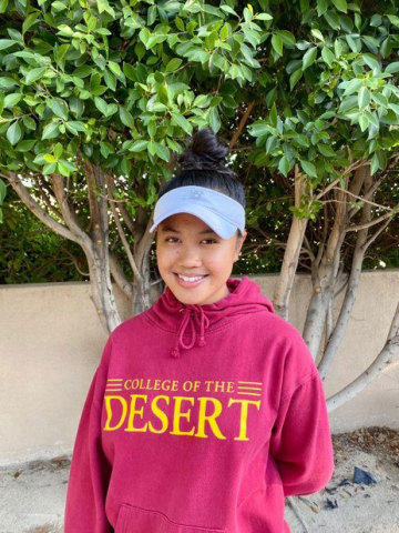 Photo 4, Emunah Daffon will attend College of the Desert this fall. (Photo: Business Wire)