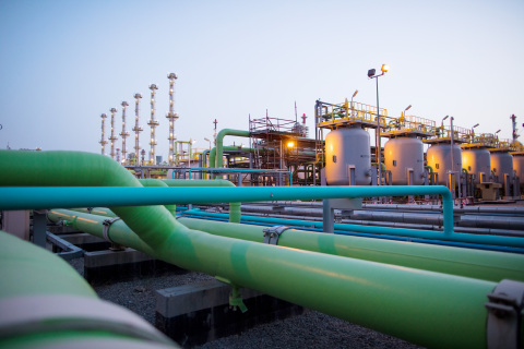 Fluor's project is shown for the Kuwait National Petroleum Company's Mina Abdullah Package 2 (MAB2) Clean Fuels Project in southern Kuwait. (Photo: Business Wire)