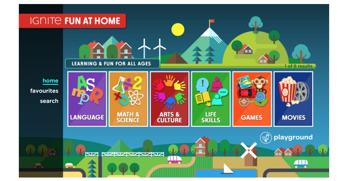 Zone Tv Introduces Fun At Home For Rogers Ignite Tv Customers Business Wire