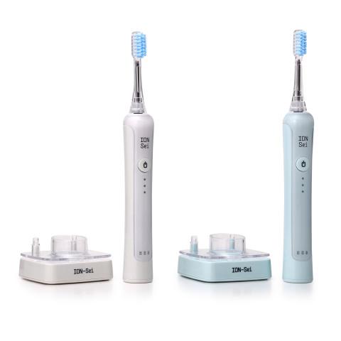 ION-Sei, eine Marke der Sanyei Corporation, wird auf den Weltmarkt kommen! Nach Erfolgen in Großbritannien, Irland und Deutschland kommt die elektrische Zahnbürste ION-Sei in den USA auf den Markt. Sie ist mit einer innovativen, patentierten Ionentechnologie ausgestattet (Foto: Business Wire)