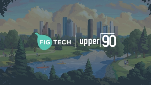 Fig, a community development financial institution, partners with Upper90, an alternative credit provider (Graphic: Business Wire)