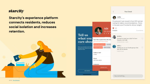Starcity Experience Platform (Graphic: Business Wire)
