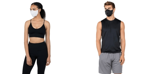 The OURA Active Mask offers superior breathability without sacrificing protection during high intensity activities and exercise regimens. (Photo: Business Wire)