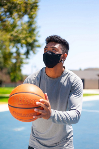 The new OURA Active Mask is a reusable antimicrobial mask that is specifically designed to better suit the needs of active individuals who require protection during exercise. (Photo: Business Wire)