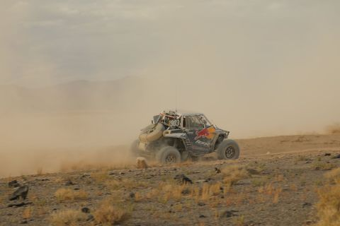 RZR Factory Racer and 2020 Vegas to Reno Pro NA Class Winner Seth Quintero. Photo Credit: Harlen Foley