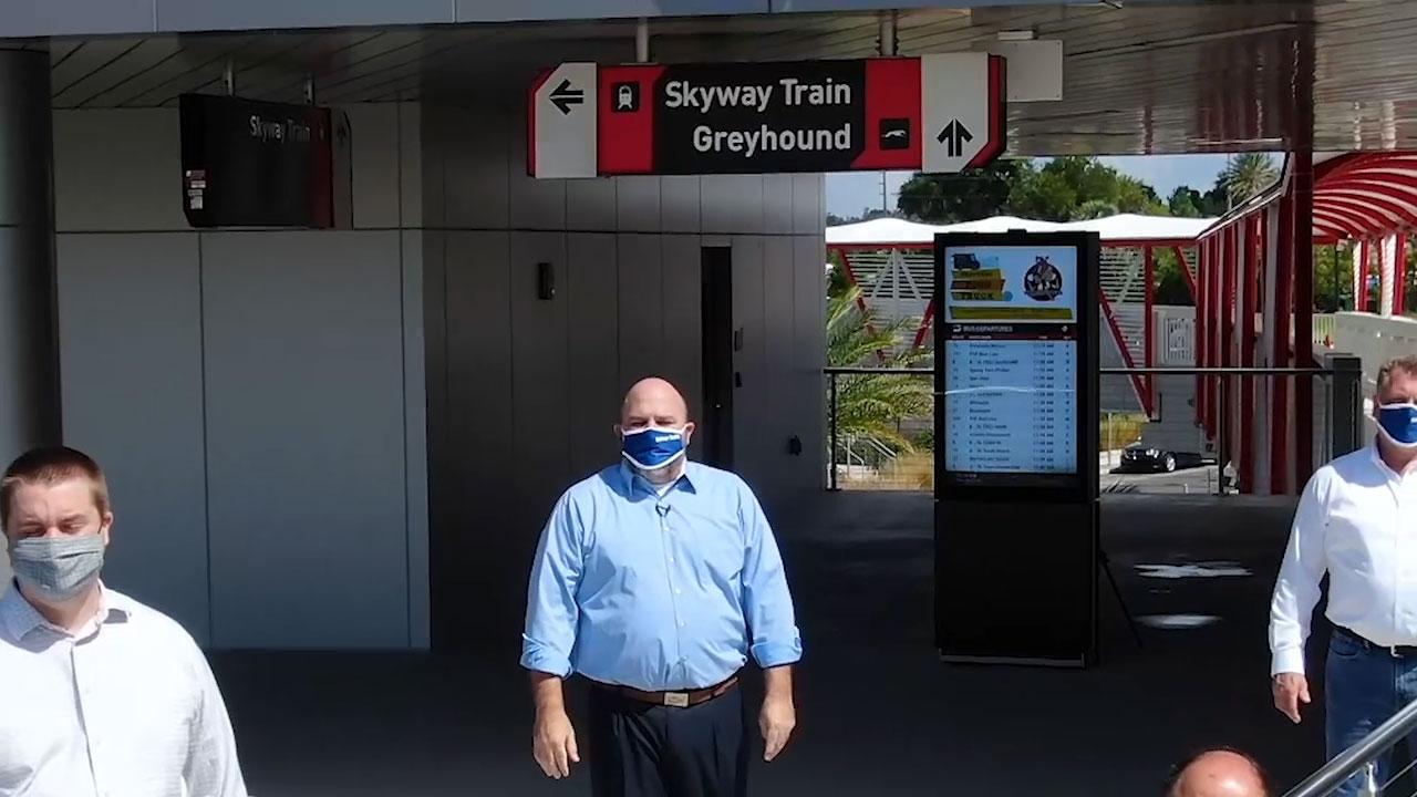Video courtesy of Jacksonville Transportation Authority.