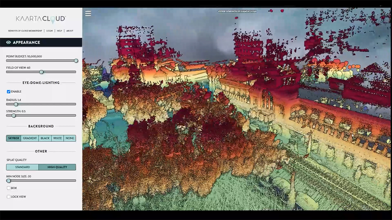 Velodyne Lidar announced Kaarta Cloud® exclusively supports Velodyne's lidar sensors. With Kaarta Cloud, Velodyne sensor users can directly tap the power of Kaarta's SLAM algorithms to process lidar data, making mobile mapping fast and accessible to a broader customer base. (Video: Kaarta)