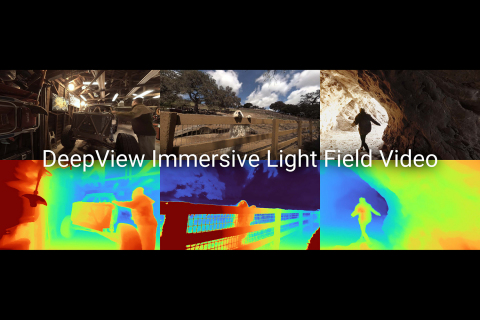 DeepView Immersive Light Field Video © 2020 Google (Graphic: Business Wire)