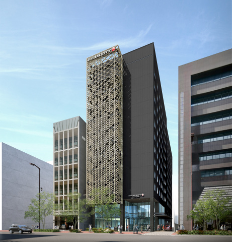 Rendition of Hotel JAL City Fukuoka Tenjin (Graphic: Business Wire)