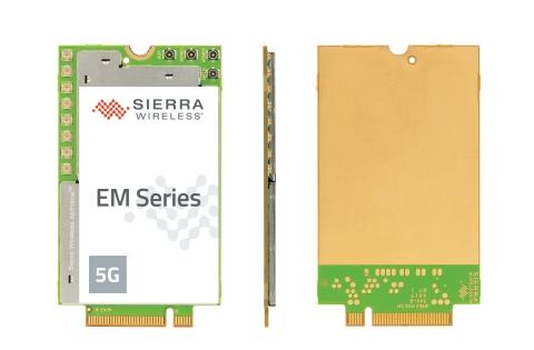 Sierra Wireless EM919x 5G NR Sub-6 GHz and mmWave embedded modules (Photo: Business Wire)