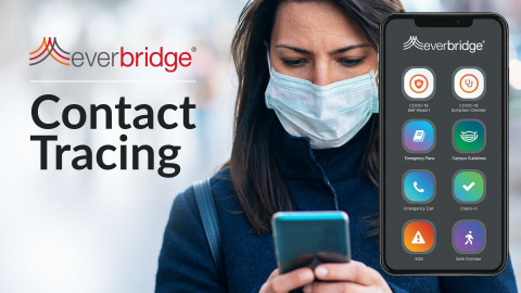 Everbridge's Next-Gen Contact Tracing Software Experiences Rapid Global Adoption Across Education, Corporate and Government Sectors (Photo: Business Wire)
