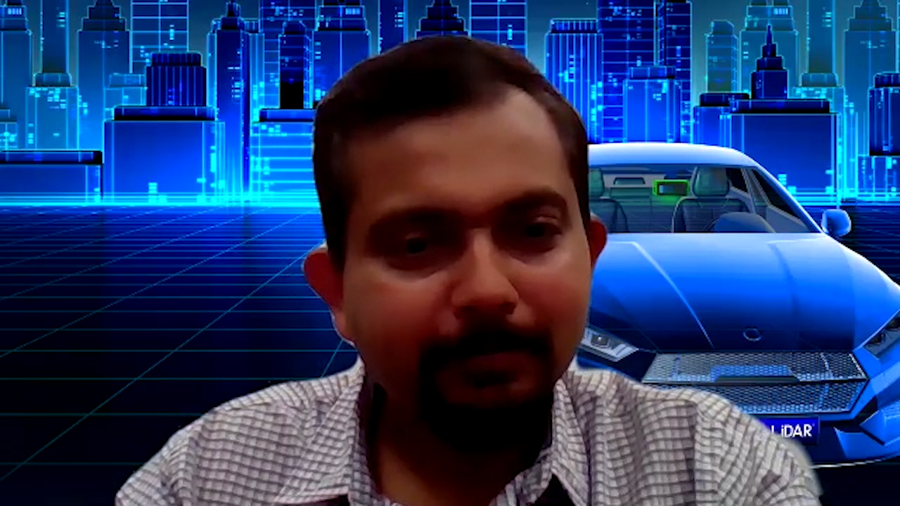 """Anand Gopalan, Velodyne Lidar CEO discusses Velodyne Lidar, Inc. being named """"Hardware Supplier of the Year"""" in the TU-Automotive awards."""