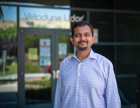 Anand Gopalan, Velodyne Lidar CEO. (Photo: Velodyne Lidar, Inc.)