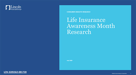 Complete findings from the 2020 Lincoln Financial Group Life Insurance Awareness Month Survey