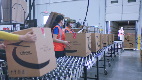 Ryder expands its e-commerce fulfillment solution to include food-grade compliant facilities which offer food and beverage customers the ability to deliver direct to 99% of U.S. consumers in two days or less with unmatched accuracy, reliability, and 100% end-to-end visibility.(Photo: Business Wire)
