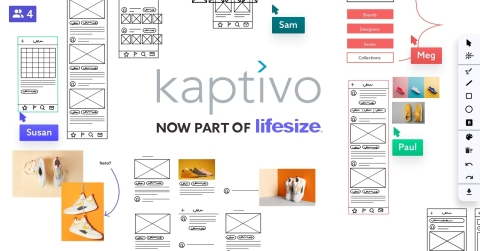 Kaptivo advanced collaboration is now part of Lifesize. (Graphic: Business Wire)