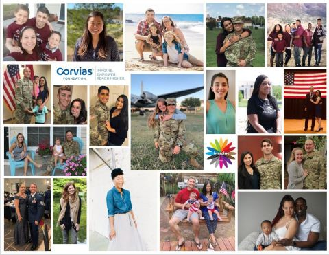 Corvias Foundation recently announced the 20 recipients of the organization's annual military spouse scholarship. Each recipient will receive a one-time award of $5,000 to be put towards furthering their academic careers. (Photo: Business Wire)