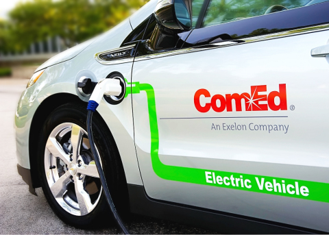 ComEd's new fleet electrification plan calls for replacing all of its light duty vehicles with electric vehicles by 2030. (Photo: Business Wire)