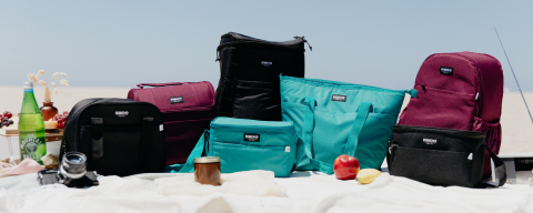 Igloo released their softside cooler collection woven with REPREVE™, a unique fiber created from recycled, post-consumer plastic bottles. (Photo: Business Wire)