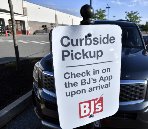 BJ's Wholesale Club announces the availability of curbside pickup at all locations on August 21, 2020 to make it even more convenient for members to shop. (BJ's Wholesale Club Photo/Josh Reynolds)