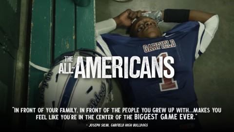 Two high school football teams in East Los Angeles put it all on the line in powerful sports documentary THE ALL-AMERICANS from Gathr Films (Photo: Business Wire)