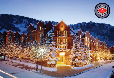 Winter Exterior of the St. Regis Aspen Resort (Photo: Business Wire)