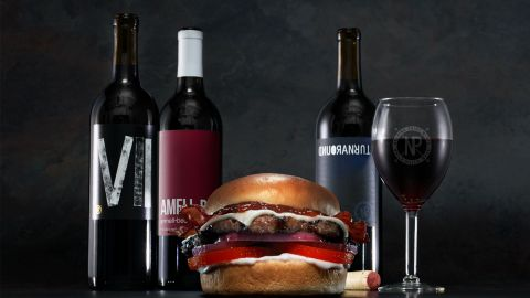 Carl's Jr. x Nocking Point Wines (Photo: Business Wire)