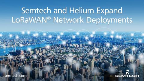 Helium Expands LoRaWAN Network Coverage (Graphic: Business Wire)