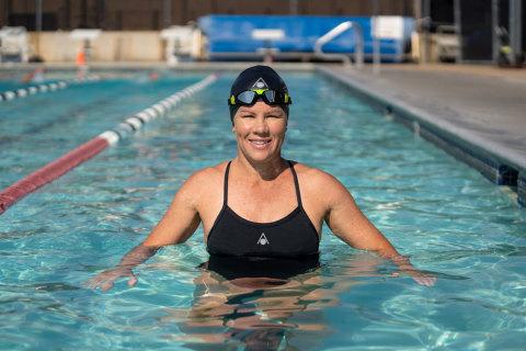 "Mirinda ""Rinny"" Carfrae joins premier swimming and triathlon equipment brand Aqua Sphere as a global brand ambassador. (Photo: Business Wire)"