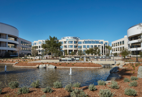 BioMed Realty, a leading provider of real estate solutions to the life science and technology industries, has relocated their headquarters to discover@UTC at San Diego's University Towne Centre. (Photo: Business Wire)