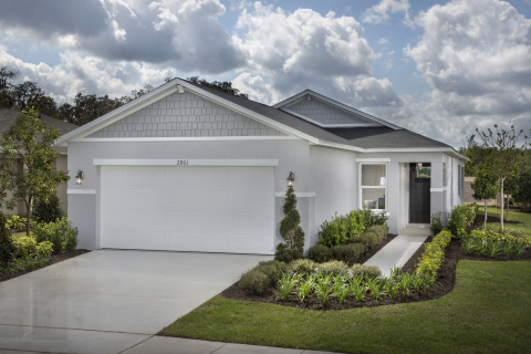 KB Home announces the grand opening of Landings at Riverbend, its latest new-home community in Sanford, Florida. (Photo: Business Wire)