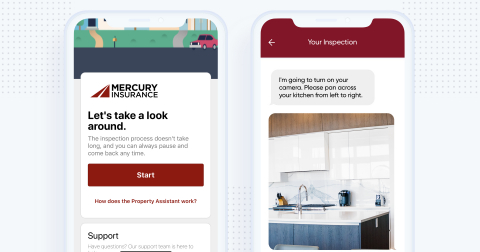 Mercury Insurance now offers a DIY inspection services app for homeowners in New York and New Jersey to minimize in-person home visits when assessing a property. (Photo: Business Wire)