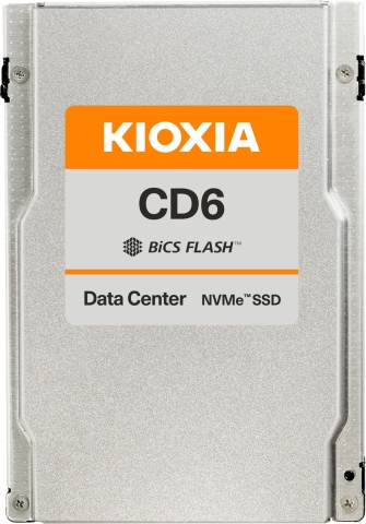 With KIOXIA's CD6 Series, HPE customers can upgrade from SATA to NVMe performance at an affordable price point. (Photo: Business Wire)