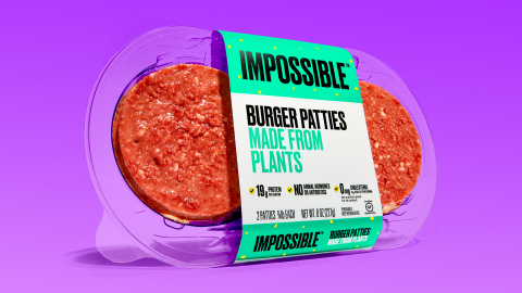 Impossible Burger patties (Photo: Business Wire)