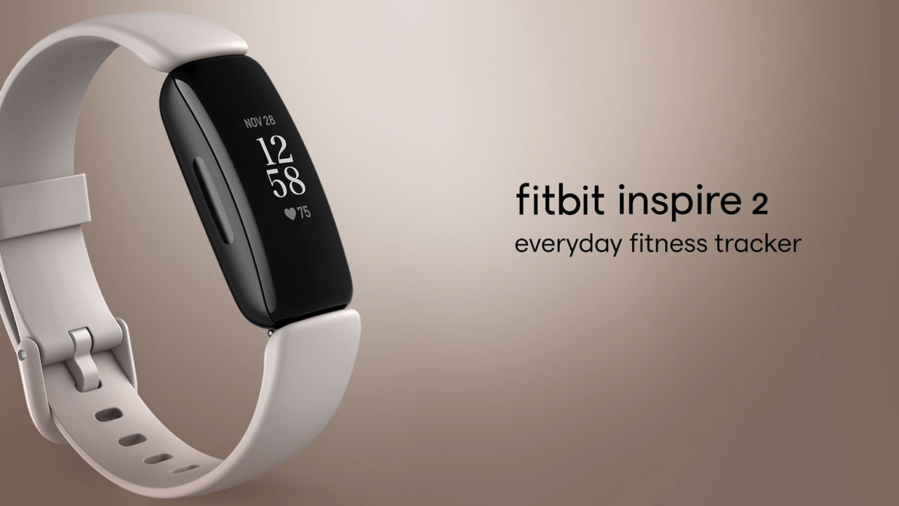 Fitbit Inspire 2, an accessible, easy-to-use, stylish fitness tracker that helps you build healthy habits with motivating fitness features and up to 10 days battery life.